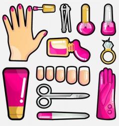 cosmetic icon vector image