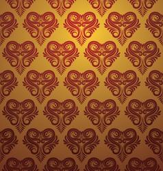Love Ornamental Pattern vector image vector image
