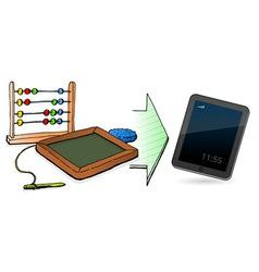 technology genesis vector image