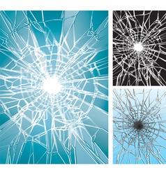 Window broken vector