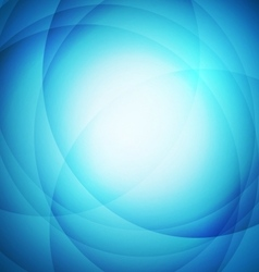 Abstract blue background with circle vector