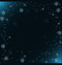 cold winter background vector image