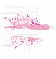 crown graphic vector image vector image