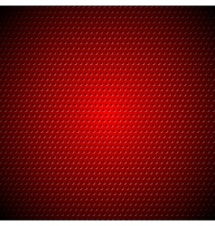 Dark red metal perforated texture vector
