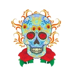 Day of the dead celebration a festival in mexico vector