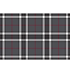 Gray tartan fabric textire seamless pattern vector