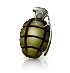 Hand grenade vector