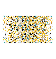 Morocco arabesque texture geometric vector