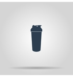 Sport shaker picture vector image