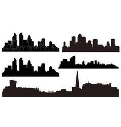 city london vector image vector image