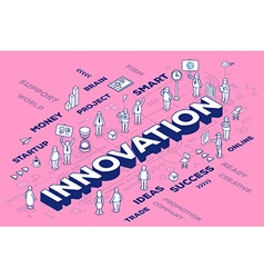 Three dimensional word innovation with pe vector