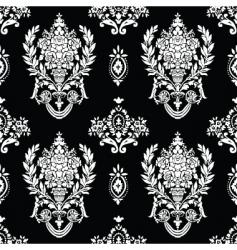 Roman vase pattern vector