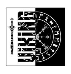 Vikingi square 0007 vector