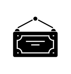 label for open closed icon vector image