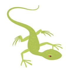 little lizard icon cartoon style vector image