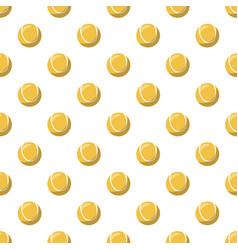 tennis ball pattern vector image