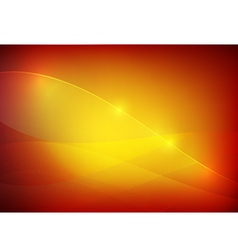 Gradient red and yellow abstract background vector image vector image