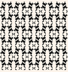 abstract geometric ornament seamless pattern vector image