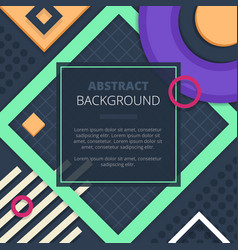 Abstract notice board cover background design vector