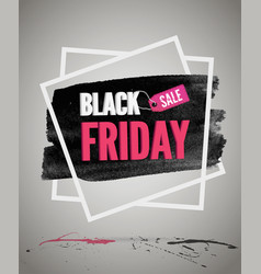 Black friday sale promotion vector