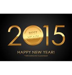 Certificate - 2015 Best Year 100 Satisfaction vector