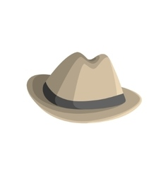 Clasy Hat With Brims vector