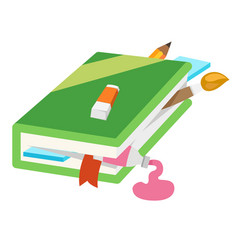 Closed book vector
