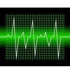 graphic of digital sound wave vector image