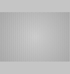 grey abstract knitted texture background vector image