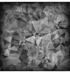 Grey Polygonal Background vector