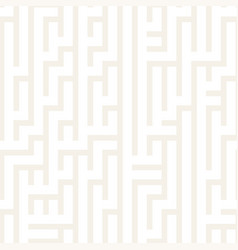 irregular maze shapes tiling contemporary graphic vector image