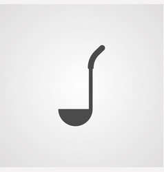 ladle icon sign symbol vector image