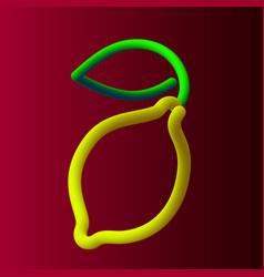 lemon1 vector image