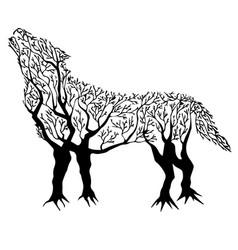 Tree-wolf vector