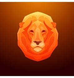 Vintage lion label Retro design graphic vector