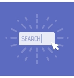 Concept of using web search vector image