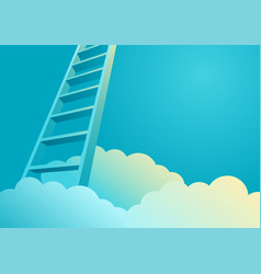 ladder to success vector image vector image