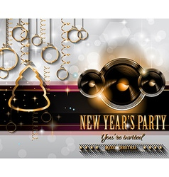 2015 new years party flyer design for nigh clubs vector
