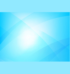 abstract blue background with simply curve vector image vector image