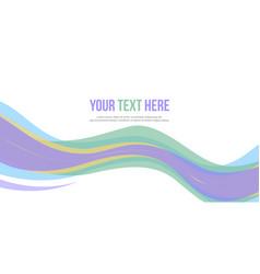 Abstract design banner website header vector