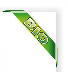 bio tag vector image