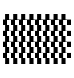 Black and white squares vector