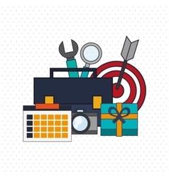 Digital Marketing design Media icon Colorfull vector
