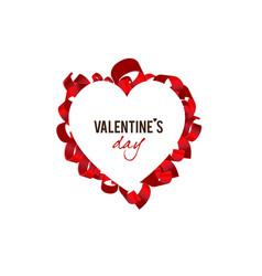 elegant background valentine s day vector image