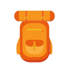 hiking backpacks icon vector image