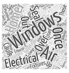 House Energy LCC Word Cloud Concept vector