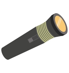 Pocket light for hiking vector