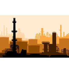 Power plant backdrop vector