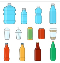 drinks beverages vector image