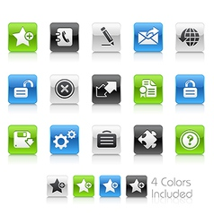 Web 20 Clean Series vector image vector image